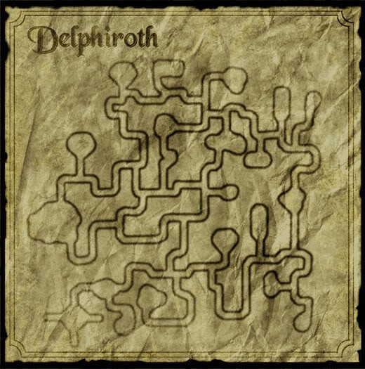 Delphiroth Floor 1 Map