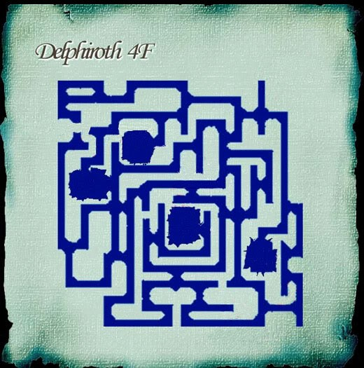 Delphiroth Floor 4 Map